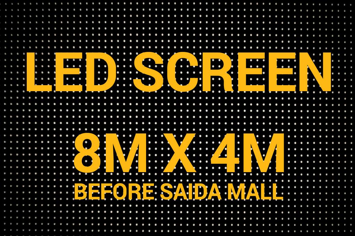 LED SCREEN 8x4
